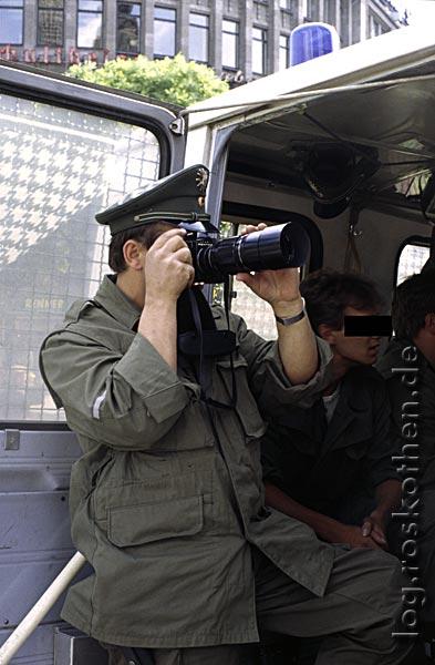 Politikblog - Ungerechtigkeit, Überwachung, Polizeistaat, Zivilcourage 1982 und 2006