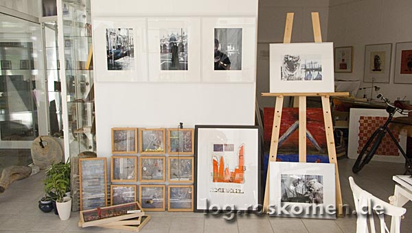 Meine Fotos bei Barbara im Atelier-Moosgasse in Kempen