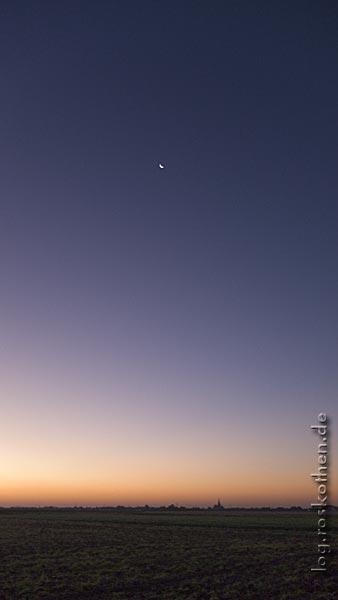 Morgenstimmung über St. Hubert – 07:38 Uhr