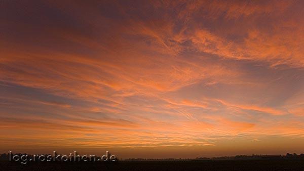 Sonnenaufgang in Kempen – 01.12.2006
