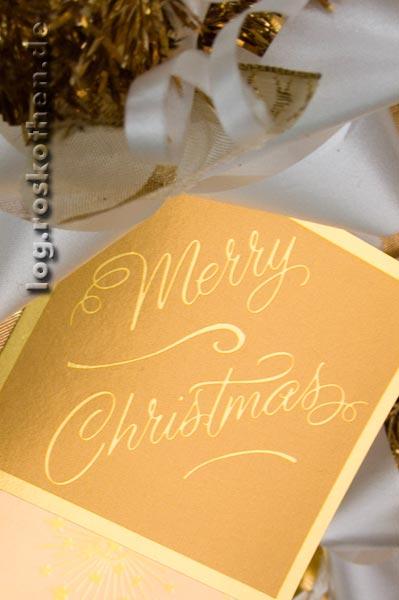 Herzliche Weihnachtsgruesse