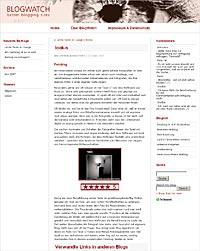 Bessere Blogs werden hier vorgestellt: blogwatch.eu