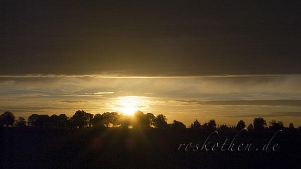 Sonnenaufgang in Kempen