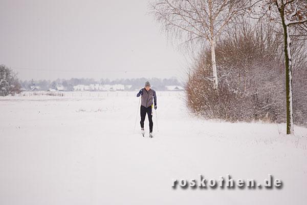 Skifahren bei Kempen Grefrath