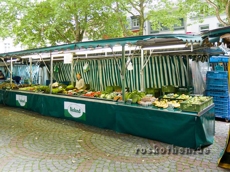 Landwirtfamilie Thees aus Willich auf dem Kempener Markt