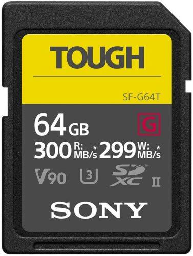 Sony Sf G64t Tough Front - die beste SD-Karte der Welt